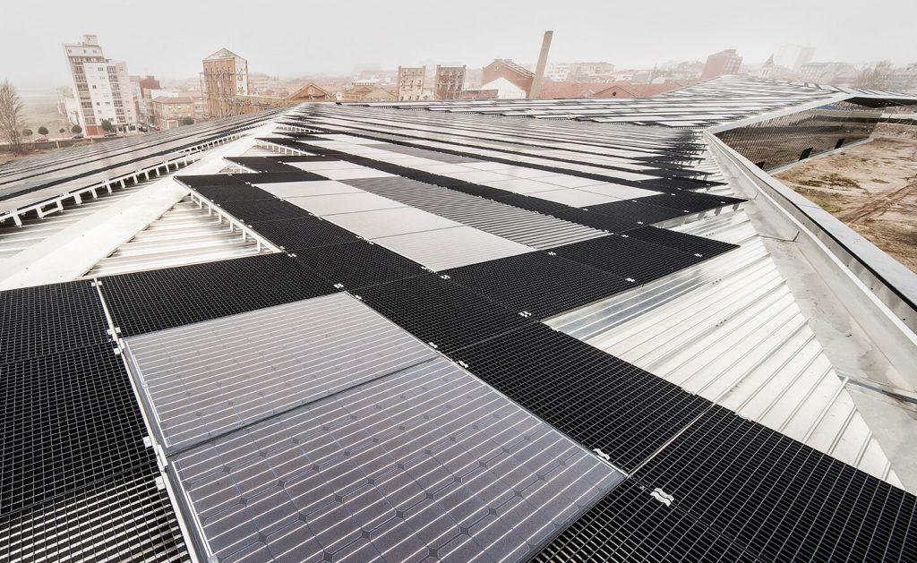Instalación solar fotovoltaica Palacio de Congresos León