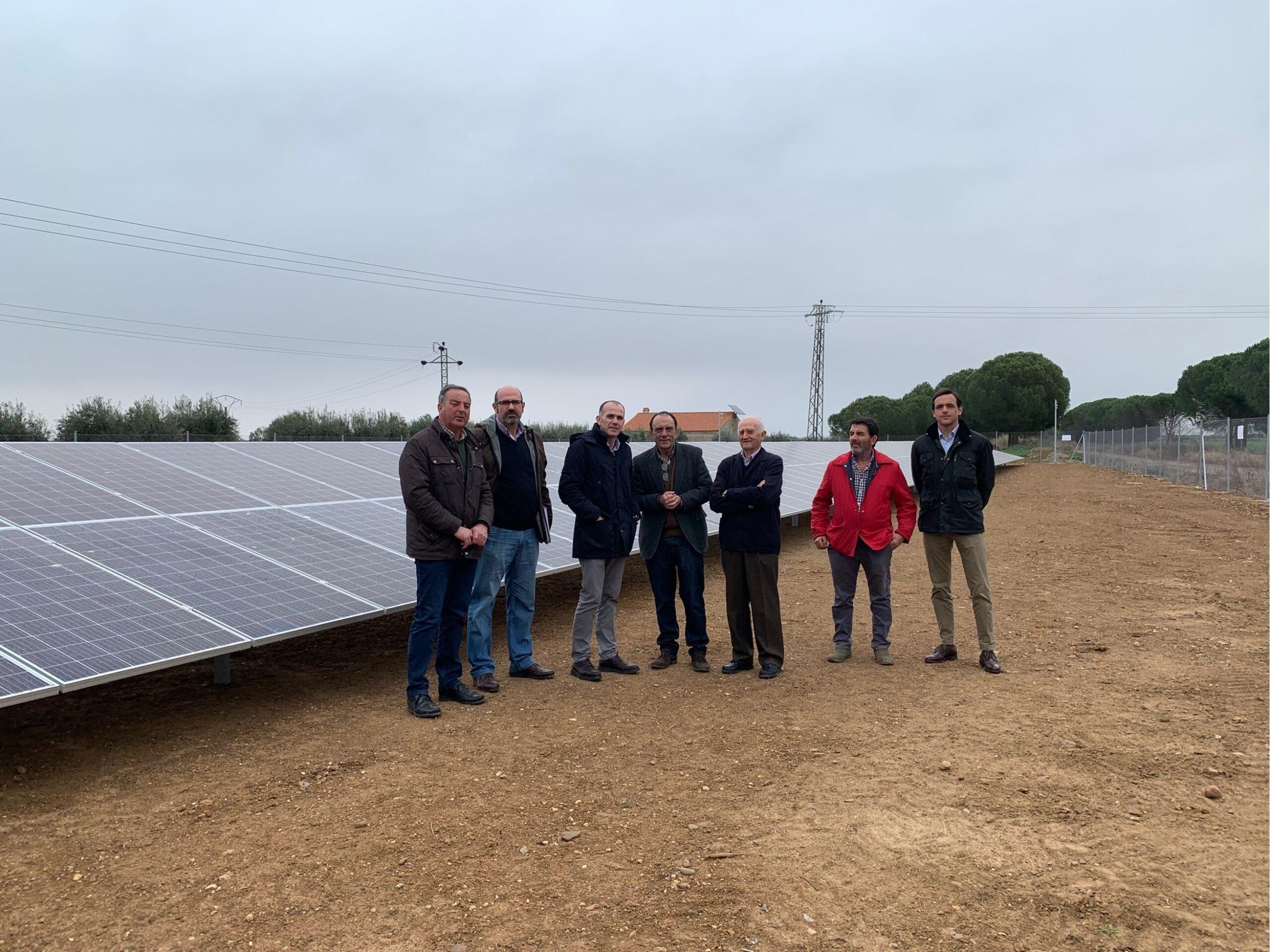 Opengy participa en el primer proyecto fotovoltaico puesto en marcha por una comunidad de regantes en Extremadura